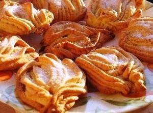 Печенье Хризантемы фото