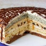 Торт Роскошный сметанник фото
