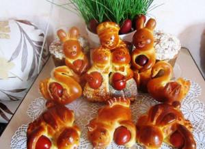 Рецепт пасхальных зайчиков
