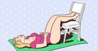 Спина перестала болеть сразу же! Бери и делай эти 6 упражнений.