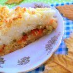 Рыбный пирог в картофельной шубке по этому рецепту получается ВСЕГДА на все сто! Мой коронный рецепт - делюсь.