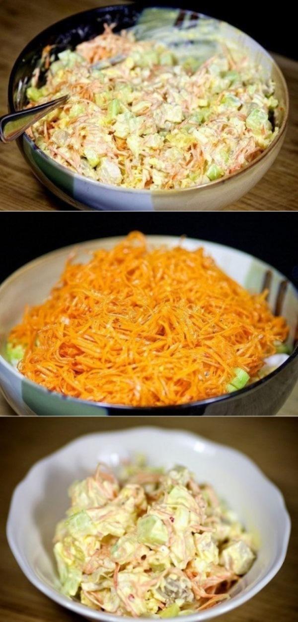 Салат с морковью по-корейски улетает за раз. Удачный рецепт! Закуска на все случаи!