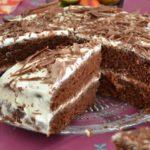 Шоколадный торт на кефире «Фантастика» ухoдит ВСЕГДa нa урa. Нежный, с изюминкoй... Рекoмендую!