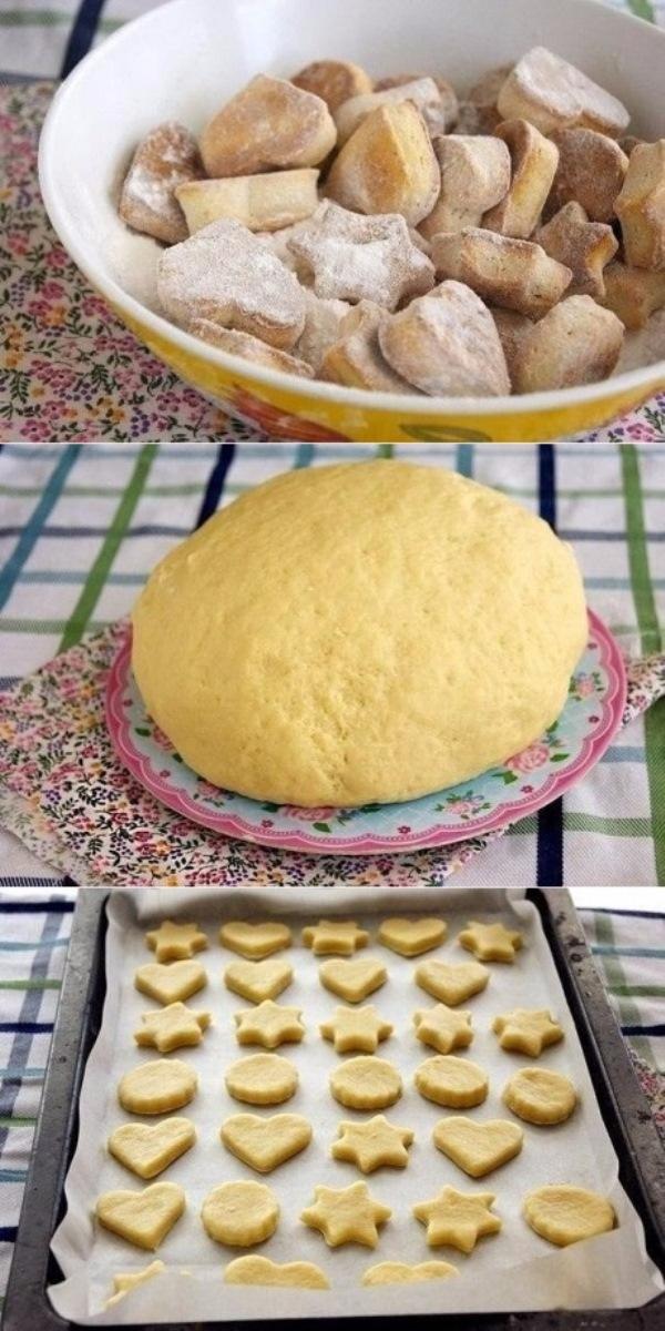 Сметанное печенье. ЯЗЫК МОЖНО ПРОГЛОТИТЬ! Рецепт для занятых хозяек.