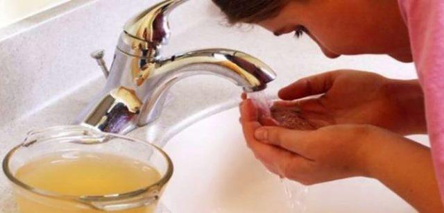 Что произойдет с вашим лицом, если умываться с яблочным уксусом в течение месяца!
