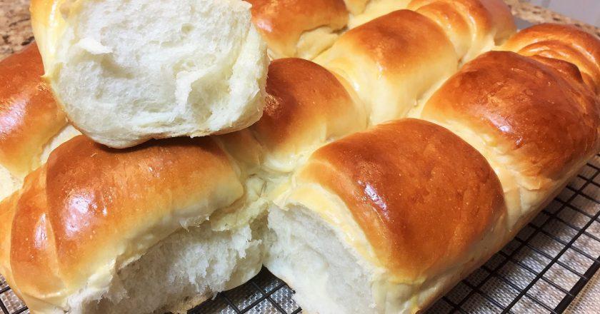 Пуховые японские булочки