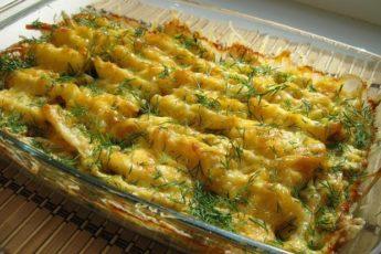 Безумно вкусный картофель по-королевски