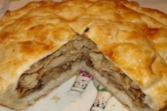 Узбекский курник — это царь пирогов! Для его приготовления понадобятся самые простые продукты, которые практически всегда есть в доме!