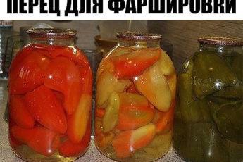 Вкуснейший ПЕРЕЦ ДЛЯ ФАРШИРОВКИ