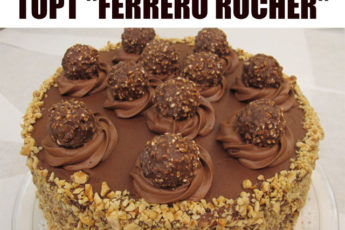 """Обалденный торт """"Ferrero rocher"""""""
