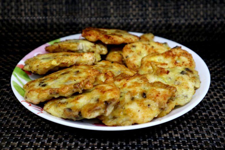 Нереальная вкуснота из курицы и шампиньонов