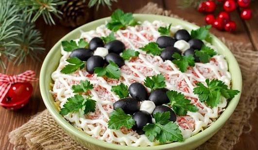 """Салат """"Отпад"""". Рецепт этого вкусного салата выпросила у своей подруги. Готовлю на каждый праздник."""