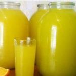 апельсиновый сок рецепт