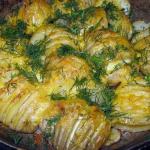 картофель с сыром фото