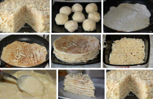 Торт Минутка без выпечки фото