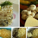 Грибной салат фото