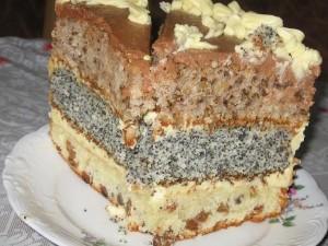 """Торт """"Три вкуса"""" фото"""