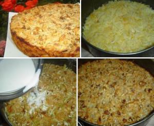 Яблочный пирог болгарский рецепт