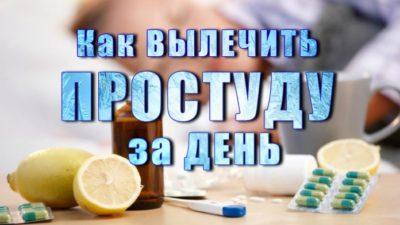 Как Вылечить Простуду за Сутки — Советы Эксперта