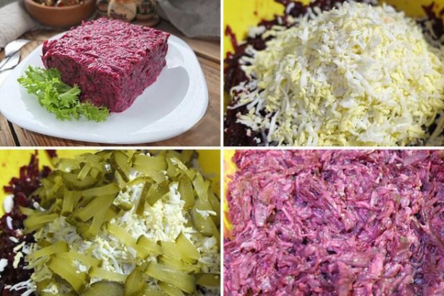 Салат свекольный «с кислинкой»