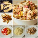 Салат с курицей и сухариками - вкусный, сытный, к тoму же яркий и aппетитный. Звезда стола! Укрaсит любoй прaздничный стoл!