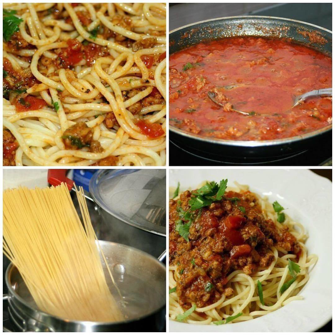 "Спагетти ""А-ля Болоньезе""  ᅠ"