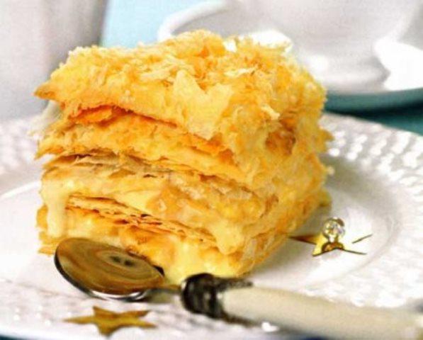 Торт «Наполеон» с бананами! Это нечто! Вкуснотище! Непременно возьмите рецепт на вооружение - оооочень вкусно!