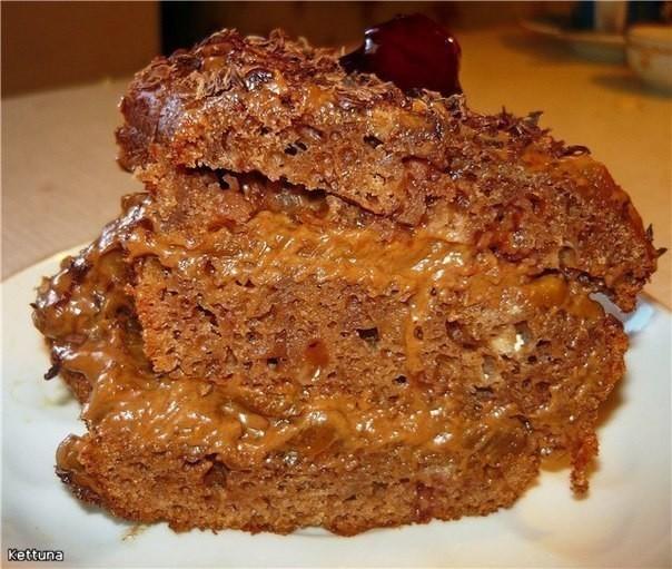 """Минутный рецепт! Торт """"Цыганка"""" покорит Вашу семью! Бесподобный! Этому рецепту очень много лет!"""