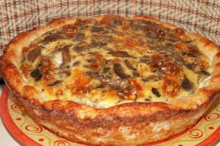 МОЙ ЛЮБИМЫЙ СОЧНЫЙ И СЫТНЫЙ УЖИН - картофельное лукошко с мясом и грибами