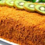 Медовый торт без раскатки коржей — рецепт, который всегда выручает!