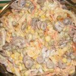 Оригинальность блюда зашкаливает — салат «Мистический»