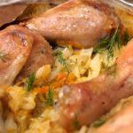 Сочная, ароматная капуста, нежное мясо, пропитанное соками овощей: никто не в силах устоять.