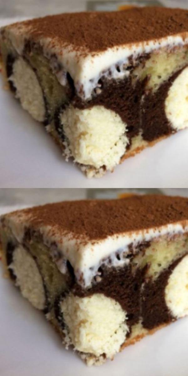 Оригинальный пирог «Утренняя роса» на нежном кефирном тесте