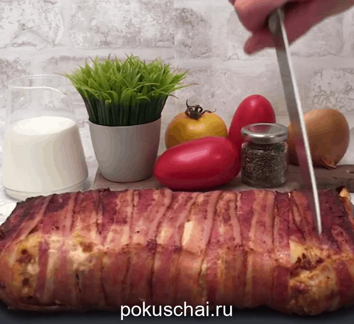 Ароматный бекон: оригинальная подача мясного блюда