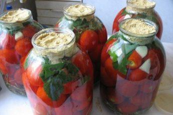 Самый удачный рецепт консервации. Эти помидоры ВСЕГДА идут на ура. Вкус бесподобный!