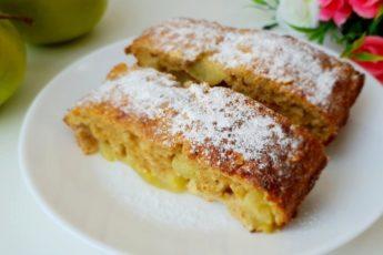 Диетический пирог без грамма муки с яблоками — ешь хоть на ночь, хоть каждый день!